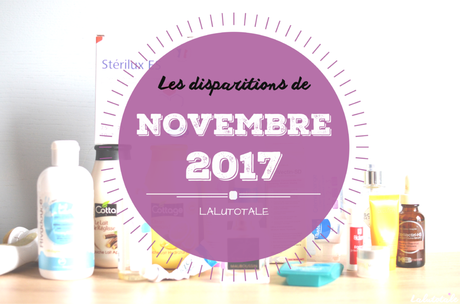 ✞ Les disparitions de Novembre 2017 ✞