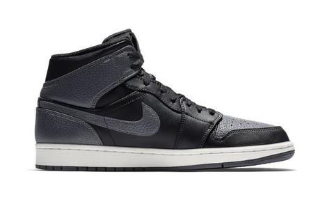 Air Jordan 1 Mid Tumbled Leather