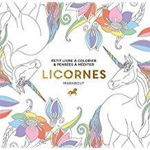 Le petit livre de coloriage : Licornes