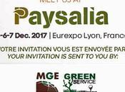 GREENSERVICE vous attend PAYSALIA 2017 stand N°5CF81 décembre pour découvrir marques partenaires Timberwolf, Trimax, Spider, GKB, Trilo, Carlton Hydro-Prat