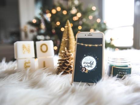 Fond d'écran Noël — Baby it's cold outside + cartes de voeux