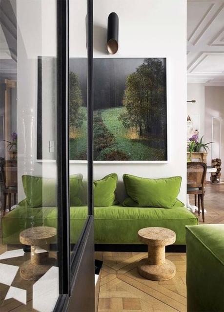 {Maison} : 5 idées pour intégrer le vert dans sa décoration