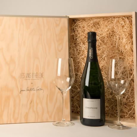 Repas de Fête & Champagne // Les Vins d'Hélène