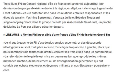 Pardon ? Le #FN, trop à gauche ? (🤢 j'ai vomi mon déjeuner)