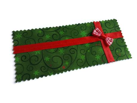 De jolies carte de Noël en tissu – printable et tuto gratuits