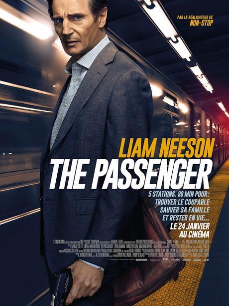 Affiche VF définitive pour The Passenger de Jaume Collet-Serra