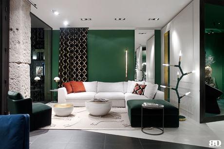 Claude Cartier Inside Créative Store Lyon, espace dédié à l'art et design contemporain