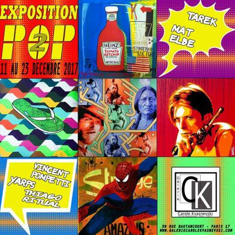 Exposition Pop2 à la galerie Kvasnevski