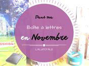 HAUL coeurs Novembre, dans boîte lettres…
