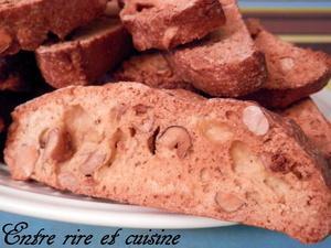 Croquants vanillés aux noisettes