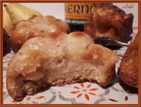 Muffins aux Poires Confites au Cidre