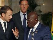 Emmanuel Macron visite Ghana