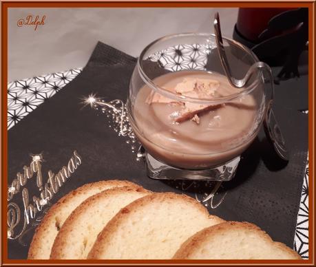 Velouté de marrons et foie gras