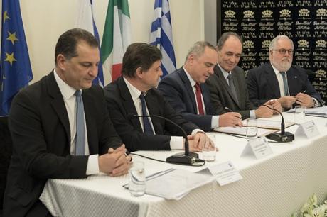 Chypre, la Grèce, Israël et l'Italie vont construire le plus long gazoduc au monde