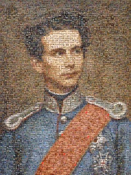 Un portrait mosaïque de Louis II: 600 cartes postales pour un portrait de synthèse