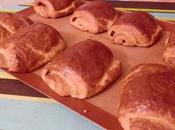 Pains chocolat avec Pâte Levée Feuilletée (PLF)