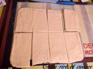 Pains au chocolat avec Pâte Levée Feuilletée (PLF)