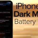 iphone x dark mode test sombre 150x150 - iPhone X : une autonomie accrue avec le mode