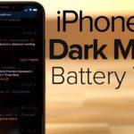 iphone x dark mode test sombre 150x150 - iPhone X : une autonomie accrue avec le mode