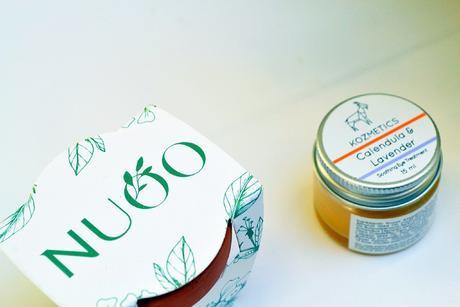 Nuoo box naturelle, bio et vegan | novembre 2017