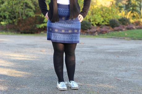 Look : La jupe de Noël