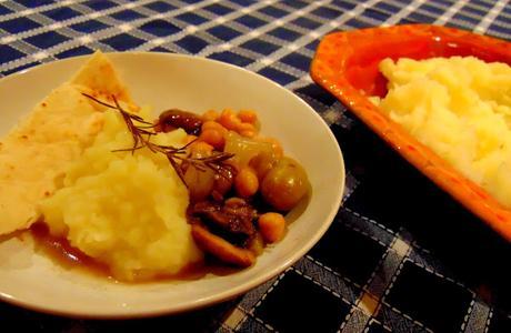 Ragoût de champignons et pois chiches
