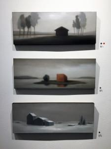 Galerie G N G  exposition Marion TIVITAL  « Silence » 5 Décembre au 13 Janvier 2018