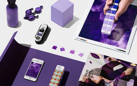Et la couleur de l'année 2018 selon Pantone est l'ultra violet !