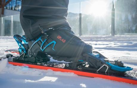 Nouvelle fixation de ski de randonnée Salomon S/Lab Shift MNC