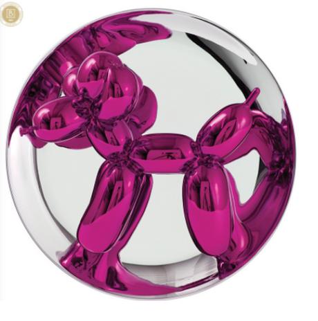 Idée cadeau : Ballon dog, Jeff Koons a choisi Bernardaud