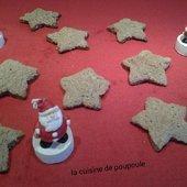 Etoile au sucre de Christophe Fleder au thermomix ou sans - La cuisine de poupoule