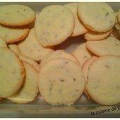 Biscuits à l'anis de Christophe Fleder au Kitchenaid - La cuisine de poupoule
