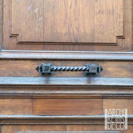 Boutons de porte de la rue Jeanne d'Arc