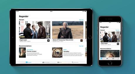 Apple TV App est disponible en France, sur iPhone-iPad-Apple TV