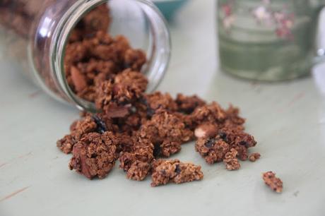 Granola nori-amandes
