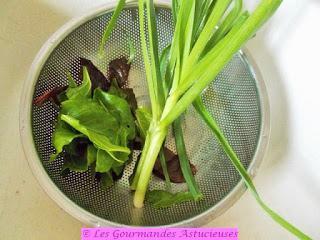Courge Sweet Potato farcie aux poireaux, blettes, lentilles et boulgour (Vegan)