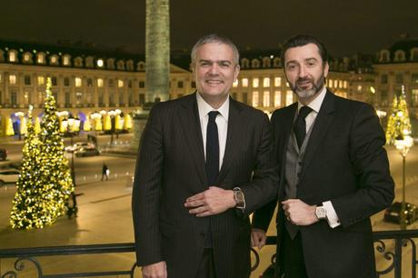 HUBLOT CELEBRE L'ART DE LA FUSION A PARIS EN DEVOILANT DEUX GARDE-TEMPS D'EXCEPTION EN PARTENARIAT AVEC BERLUTI