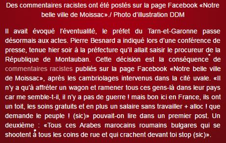 « notre belle ville de #Moissac »… polluée par les bas du front #antifa