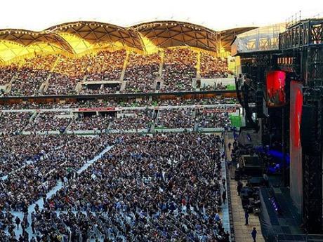 Paul McCartney : la set-list de son concert à Melbourne #PulMcCartney #Melbourne #australia #oneonone