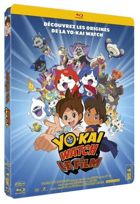 3 DVD et 1 Bluray de « Yo Kai Watch le Film » à gagner