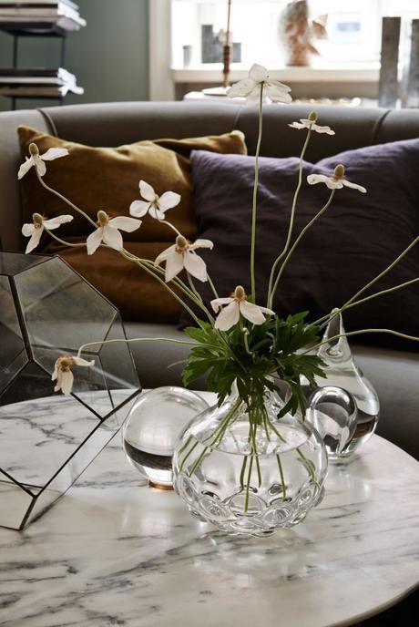 Un appartement parsemé de fleurs