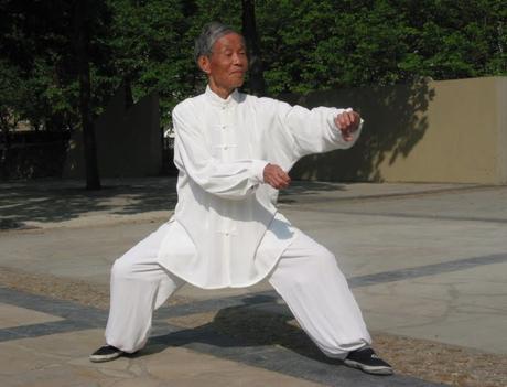 Sigong ZENG Kun est originaire de la ville de FoShan dans la région de Quang Dong. Photo prise lors de son séjour à Paris