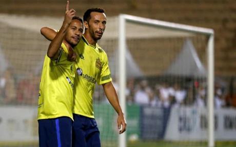 Neymar et l'ancien parisien Nene