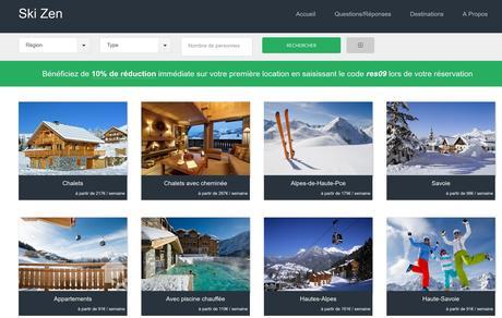 Faux site de locations de séjours au ski
