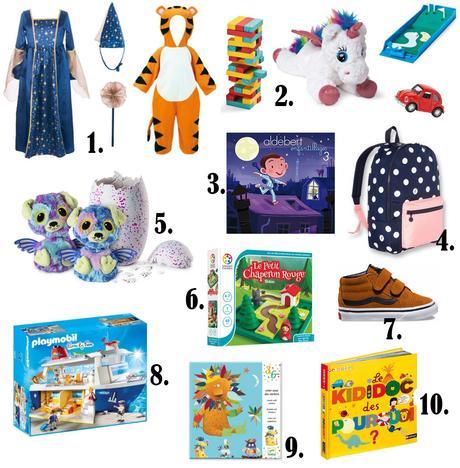 Ma sélection cadeaux de Noël pour enfants au centre les 4 temps