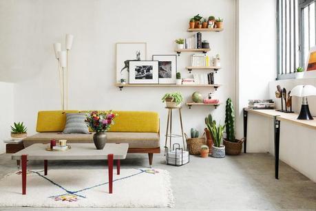 astuces d co pour un petit salon. Black Bedroom Furniture Sets. Home Design Ideas