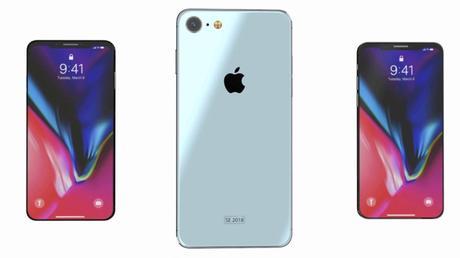 iPhone SE de 2018 : un concept imagine un modèle inspiré de l'iPhone X