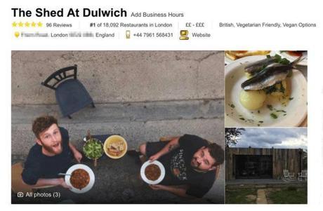 Son faux restaurant devient N°1 sur Tripadvisor en 6 mois