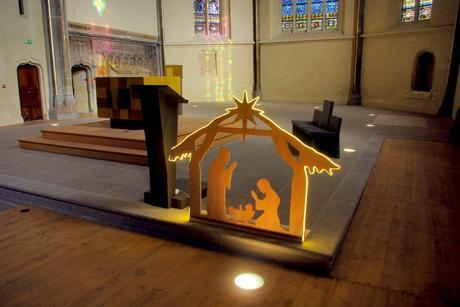 Crèche de Noël (église Saint-Maurice), Annecy © French Moments