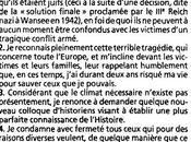 """""""Affaire Mythes"""" (suite): communiqué l'Abbé Pierre avril 1996"""